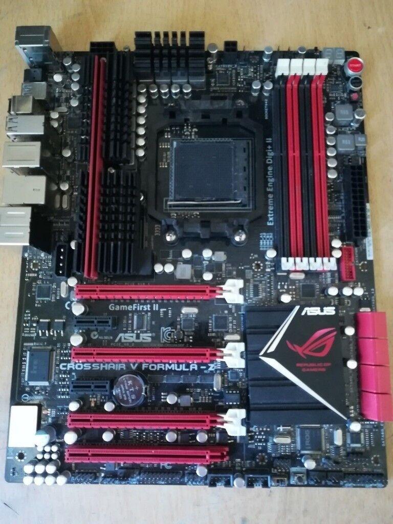 Amd am3+ asus crosshair v formula-z motherboard | in Sheffield, South  Yorkshire | Gumtree