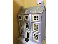 Big dolls house with furniture