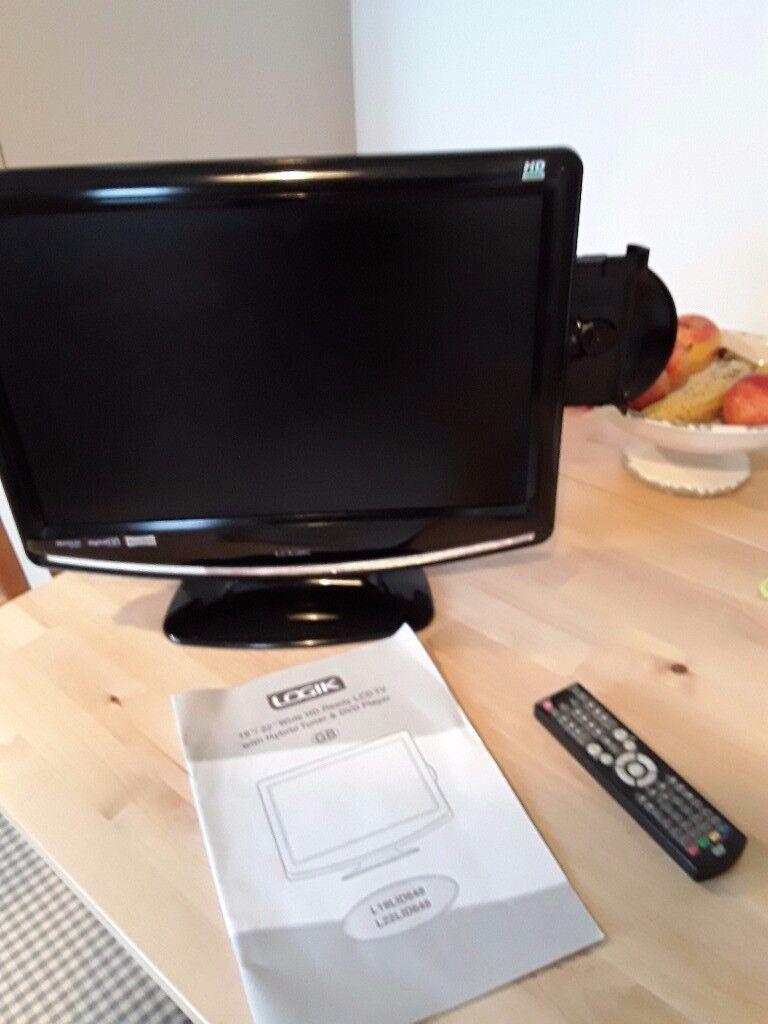 "Logic 19"" TV with dvd."