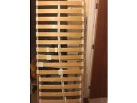 Ikea sultan lovene bed base slats frame x2