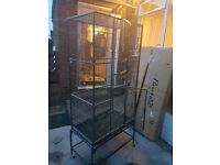 Large Parrot Cage Clean Practically Brand New 6 months old £60