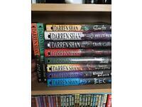 Darren shan DEMONATA kids/teenage book collection