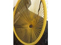 Retro 1950s rattan lounge/patio chairs