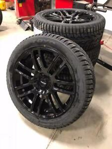 "22"" WINTER PACKAGE Wheel and tire COMBO!! $2500 Cash and Carry!! GMC Chevrolet Sierra Silverado Yukon Tahoe F150"