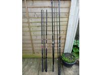 5 Carp Fishing Rods