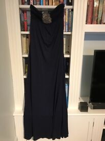 Maxi dress from Monsoon in navy blue