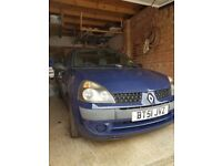 Renault Clio (2001) MOT to JUNE 19 Lovely runner all latest service & parts receipts avail