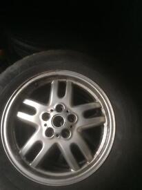 Rangerover wheels nd tyres