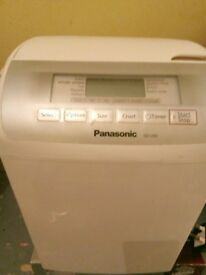 Panasonic bread maker in perfect condition, barely used