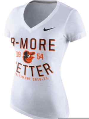 NWT Nike Baltimore Orioles B-More Better Birds Slim Fit Tee T-Shirt S-XL