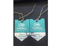 Ebor Ladies Day County Stand Tickets YORK