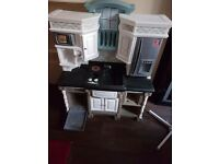 Realistic play kitchen