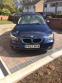 BMW 520d SE blue metallic