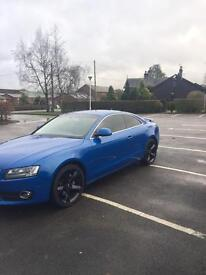 Audi A5 rare blue