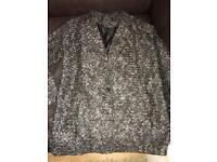 Grey Jacket size 14