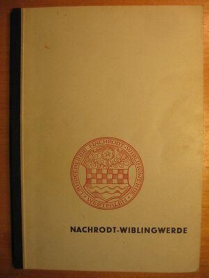1957 Nachrodt Wiblingwerde / Festschift