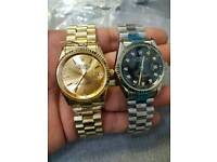 Rolex datejust automatic sweeping movement £35 each 2 for £60