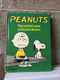 Peanuts the misfortune of Charlie Brown