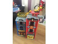 Early learning centre wooden fire station