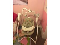 Brand New Electronic Baby Swing, Never Used!