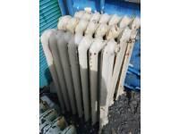 Retro old 2 column radiators