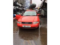 1999 Audi A4 Estate 1.6 diesel Red BREAKING FOR SPARES