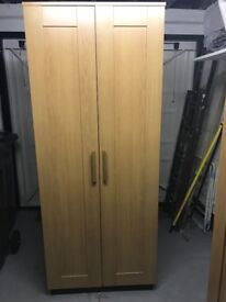Ikea Brimnes wardrobes . Light oak. Both unused as new condition..height 1.90.width. 78 depth.50