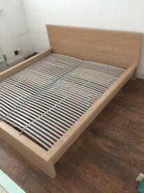 Ikea Malm Superking bed