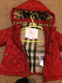 Baby Burberry jacket-