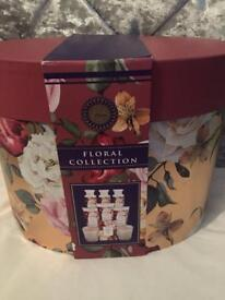 NEW M&S floral collection 9 piece set in gift box