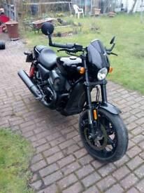 Harley davidson 750cc street rod