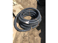 50/63mm Black Twinwall Underground Electrical Ducting 12m