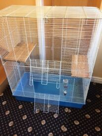 Huge cage with accessories