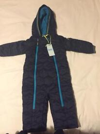 BNWT Ted baker snowsuit 12-18mths