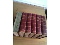 Set of 6 Harmsworth Household Encyclopedias