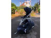 Inglesina stroller and car seat