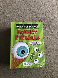 Horrible science bouncy eyeballs kit