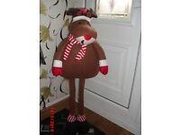 Christmas raindeer,50 inch tall