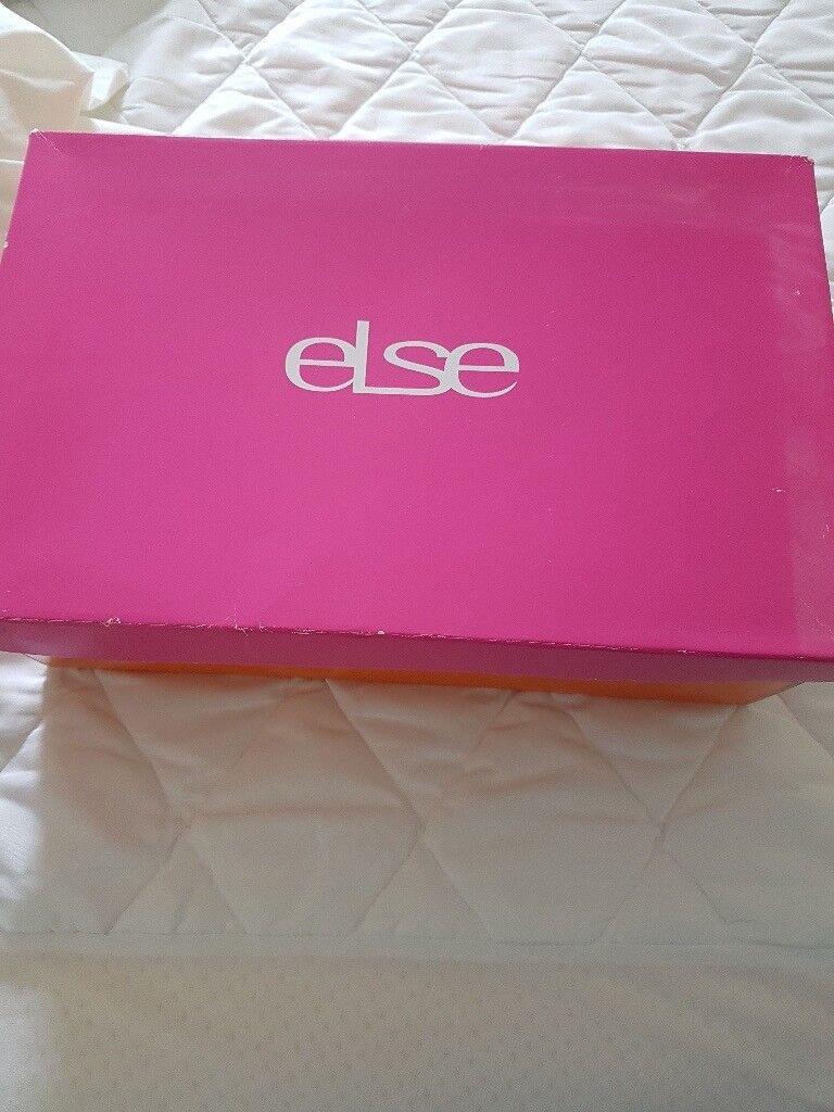 Else pink shoes