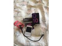 Blackberry Q10 16gb white unlocke immaculate