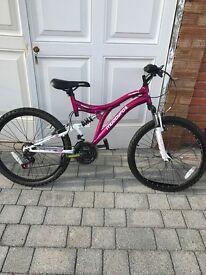 Muddy fox girls bike