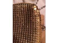1970s handbag and matching purse
