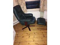 HOUSE CLEARANCE! Leather armchair