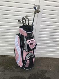 Brand new women's Ben Sayers bag and golf clubs