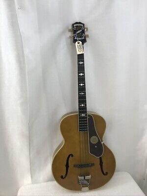 Epiphone De Luxe Classic Acoustic-Electric Bass Antique Natural