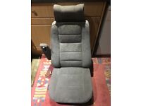 Range Rover classic grey cloth seats