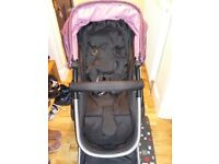 Excellent condition 3 in 1 Mothercare Roam pram