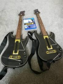 Guitar Hero Live 2 x Guitars Set PS4