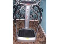 Crazy fit massage machine.