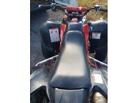 Price drop !!Bargain!! Road legal qaudzilla 250 09 plate